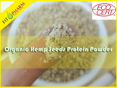 Organic Hemp Seeds Protein Powder